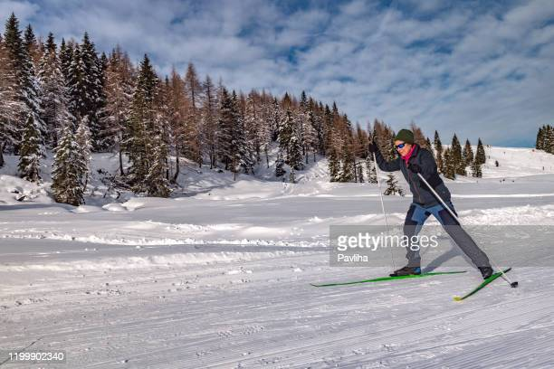 Naked black woman outdoor skiing Old People Skiing Photos And Premium High Res Pictures Getty Images