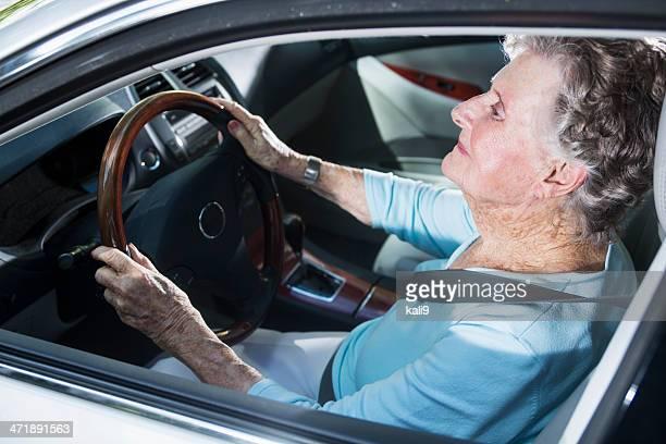 老人女性駆動車