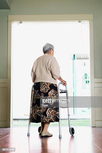 Senior woman in a nursing home