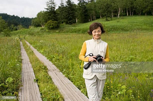 a senior woman - kazuko kimizuka bildbanksfoton och bilder
