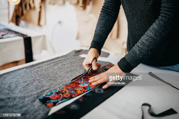 senior woman sawing - cut out dress stock pictures, royalty-free photos & images