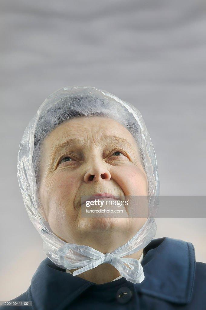 Rain Hats Women Stock Photos and Pictures  9f6e3d5c2e6