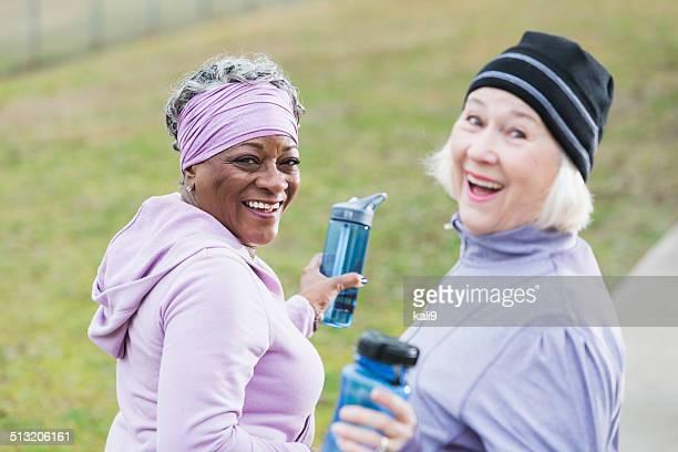 Senior mujer ejercicio