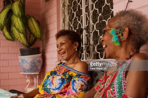Senior Women laughing