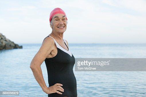 Alte Frauen Nackt Am Strand