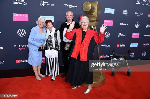 Senioren Zocken attend the YouTube Goldene Kamera Digital Awards at Kraftwerk on September 26 2019 in Berlin Germany