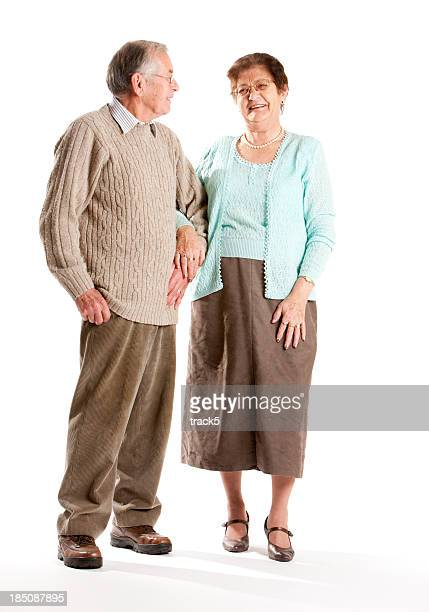 seniors: elderly couple