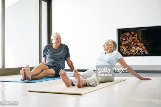 Seniors keeping in shape