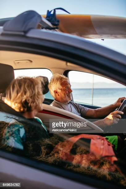 Seniors on a road trip