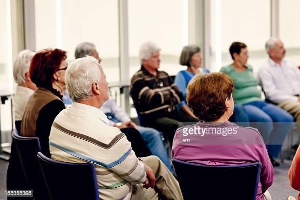 Seniors en el seminario