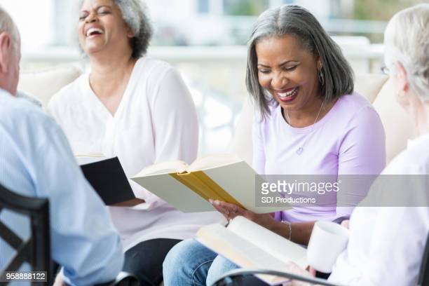 Seniors participate in Bible study