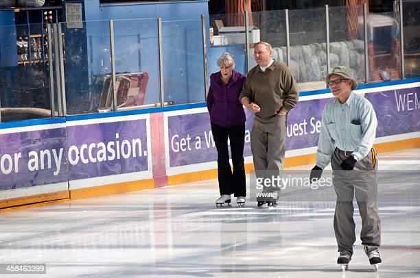 Seniores skate. West Edmonton Mall