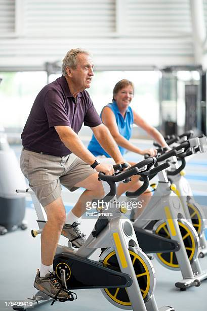 Seniors spinning