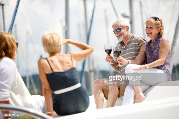 seniors taking on the world - passenger craft stock pictures, royalty-free photos & images
