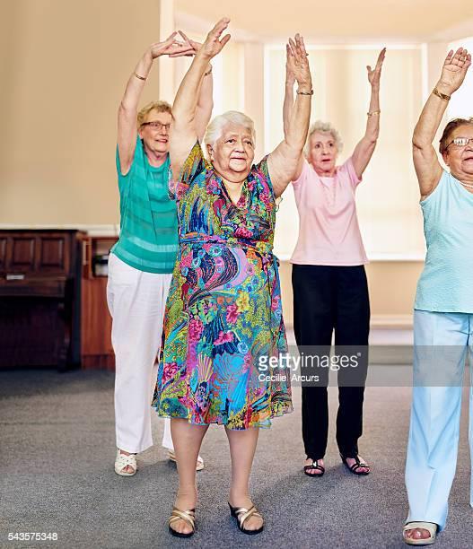 Seniors with stamina!