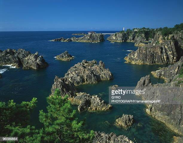 senkaku harbor,  niigata prefecture,  japan - 尖閣諸島 ストックフォトと画像
