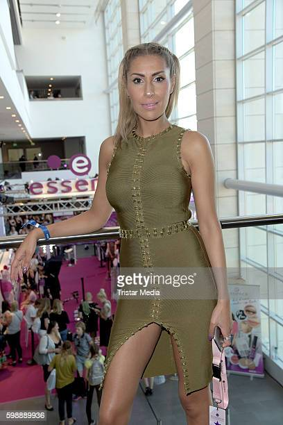 Senna Gammour attends the 'Glossycon' on September 3 2016 in Berlin Germany