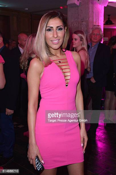 Senna Gammour attends the JT Touristik Celebrates ITB Party at Soho House on March 10 2016 in Berlin Germany