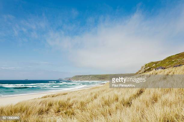 Sennen Cove near Land's End in Cornwall, England, UK