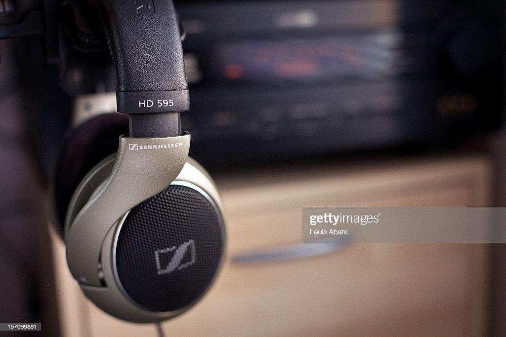 Sennheiser HD595 Professional Headphones : Nachrichtenfoto
