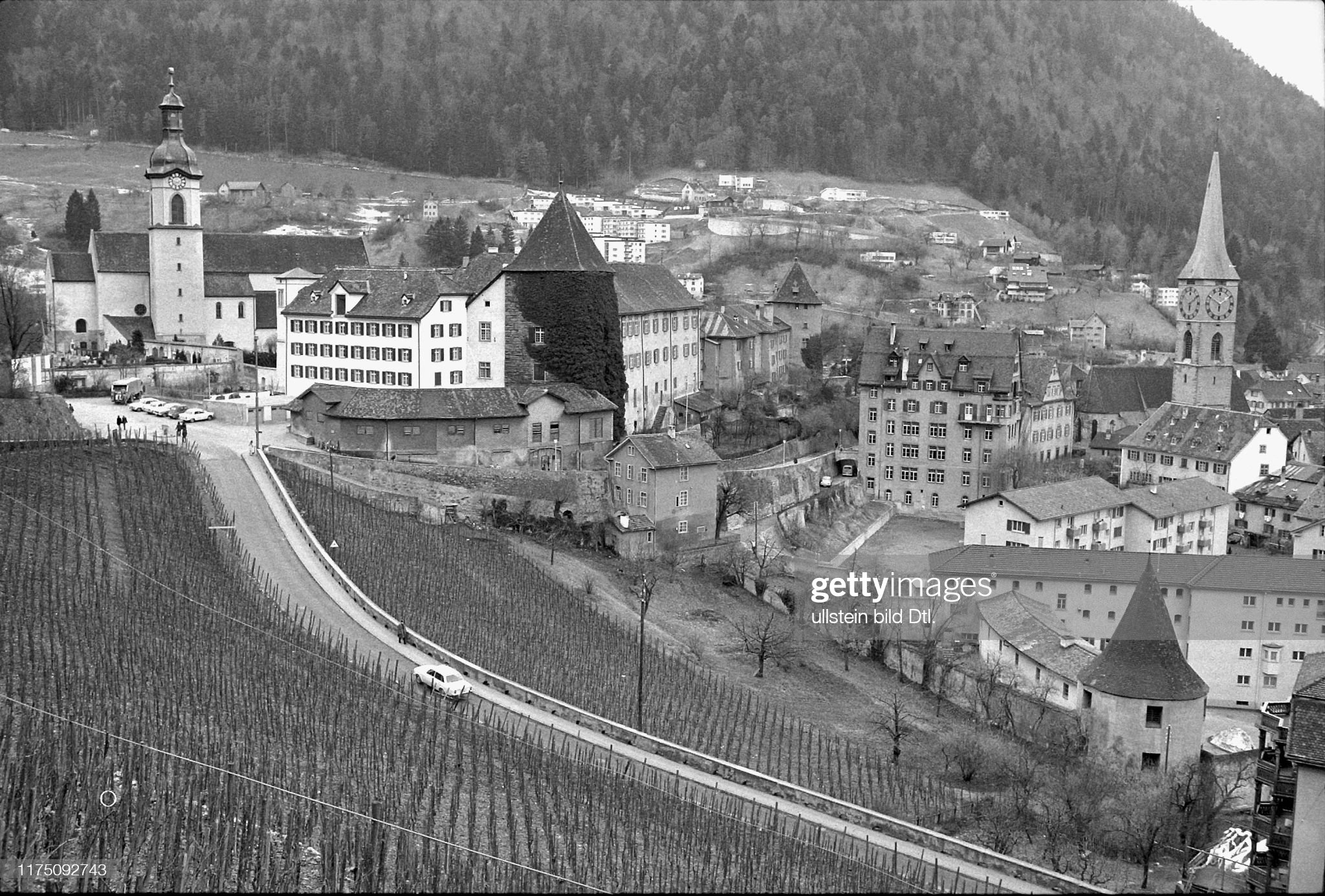 Sennhof prison in Chur, 1970 : News Photo