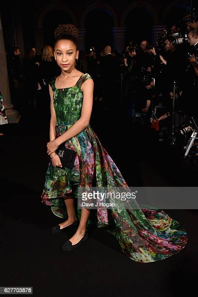 Sennia Nanua attends The British Independent Film Awards at Old Billingsgate Market on December 4 2016 in London England