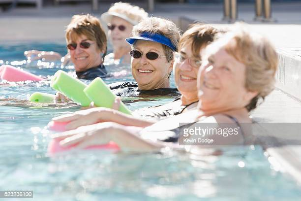Senors in Pool