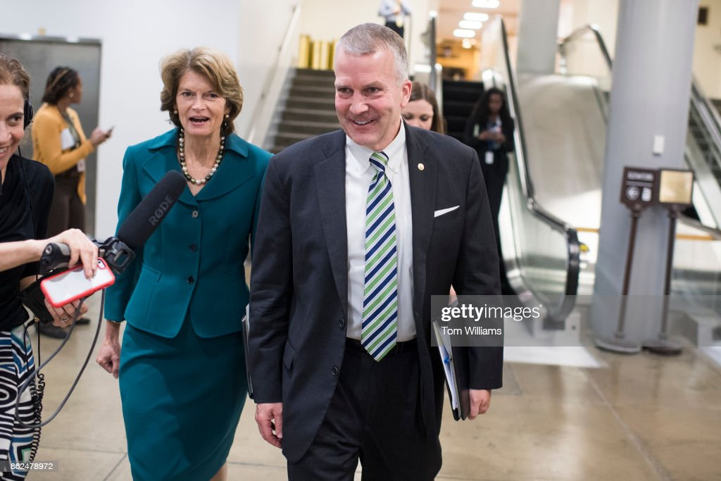 Image result for photos of lisa murkowski and dan sullivan