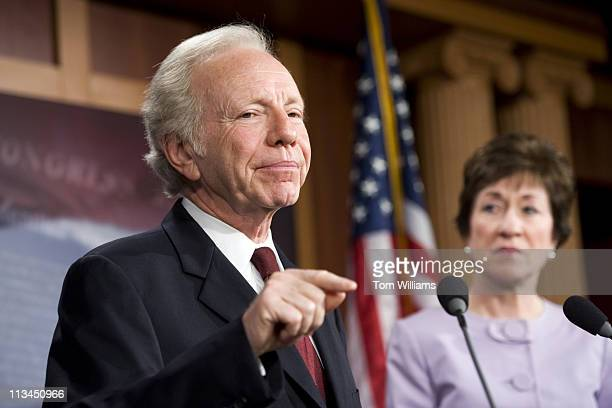 May 2: Sens. Joe Lieberman, I-Conn., and Sue Collins, R-Me., conduct a news conference in the Capitol on the killing of terrorist leader Osama bin...