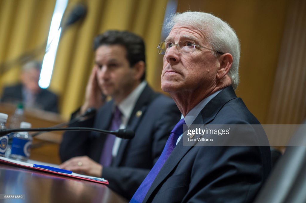 Roger Schatz senate finance committee pictures getty images