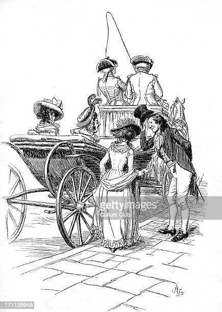 'Sense and Sensibility' by Jane Austen John Dashwood is introduced to Mrs Jennings First published in 1896 Chapter XXXIII Illustration by Hugh...