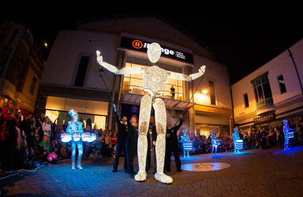 CAN: 'Sense Of Unity' Light Parade At Inside Out Festival