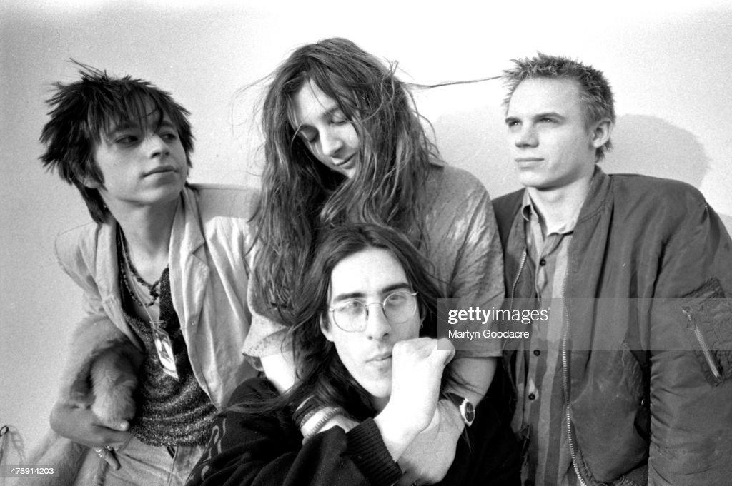 Senseless Things, group portrait, United Kingdom, 1991. L ...
