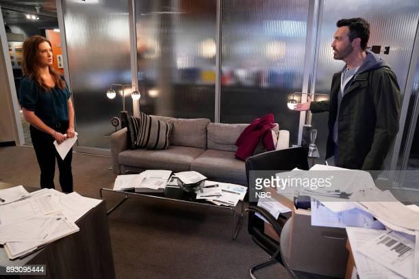 NEWS 'Sensitivity Training' Episode 208 Pictured Briga Heelan as Katie Reid Scott as Jeremy