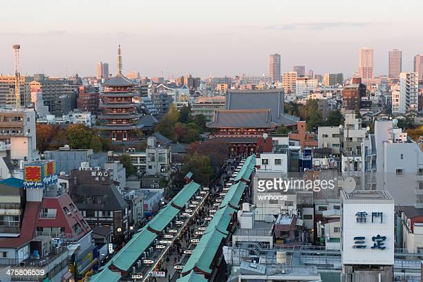 浅草寺で東京,日本
