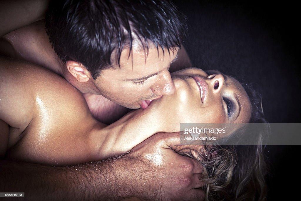 Sensual couple : Stock Photo