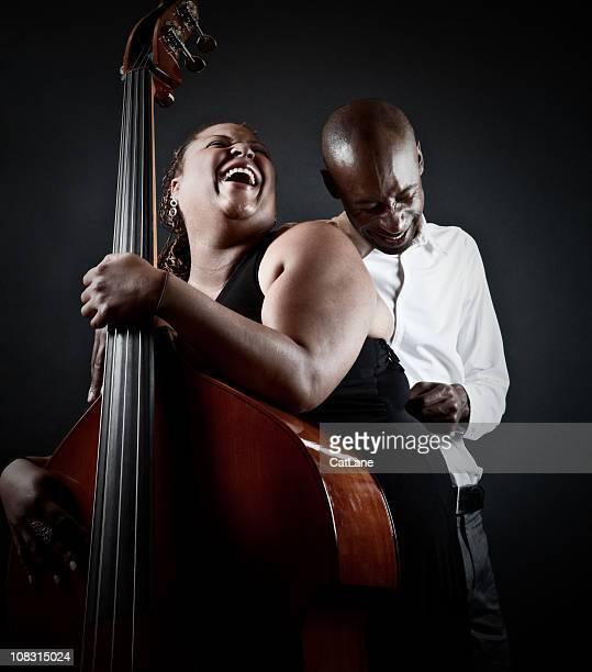 Sinnliche Jazz-Musiker