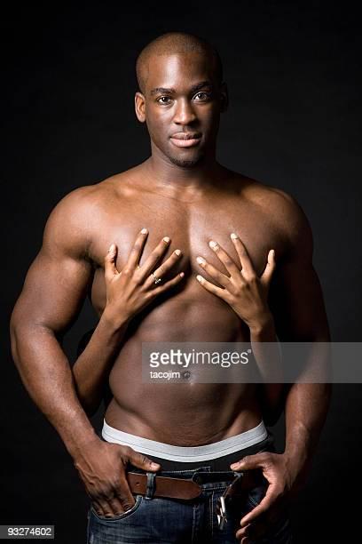 sensual - chica adulta negra espalda desnuda fotografías e imágenes de stock