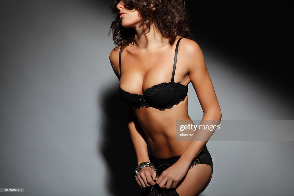 Sensual woman in lingerie : Stock Photo
