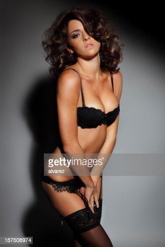 Sensuelle Femme En Lingerie Fminine Photo  Getty Images-7504