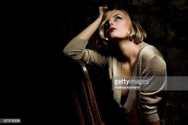 sensuality - portrait of a beautiful woman