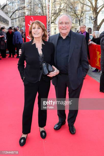 Senta Berger and her husband Michael Verhoeven during the It Could Have Been Worse ñ Mario Adorf premiere during the 69th Berlinale International...