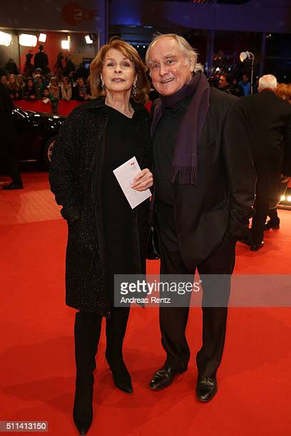 Senta Berger and Michael Verhoeven attend the closing ceremony of the 66th Berlinale International Film Festival on February 20 2016 in Berlin Germany