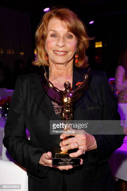 Senta Berger attends the Jupiter Award at Cafe Moskau on March 29 2017 in Berlin Germany