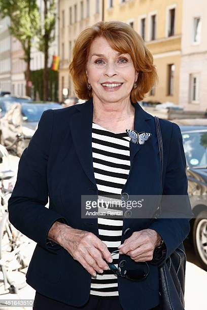 Senta Berger attends the WDR Reception at Teatro Bar Tapas on July 3 2014 in Munich Germany
