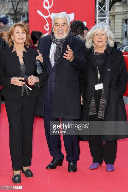 Senta Berger Mario Adorf and Margarethe von Trotta during the It Could Have Been Worse ñ Mario Adorf premiere during the 69th Berlinale International...