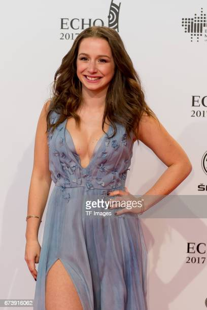 SentaSofia Delliponti on the red carpet during the ECHO German Music Award in Berlin Germany on April 06 2017