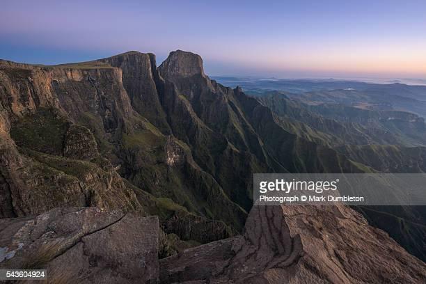 Sentinel Peak and Tugela Falls, Drakensberg, South Africa