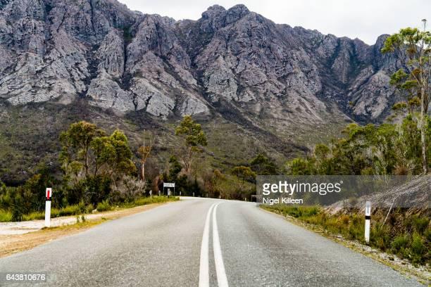Sentinel Range, Western Tasmania, Australia