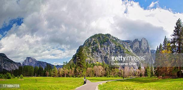 sentinel rock, yosemite national park - yosemite valley stock photos and pictures
